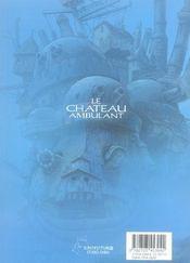 Le château ambulant t.3 - 4ème de couverture - Format classique