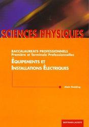 Physique equipements et instal.elect - Intérieur - Format classique