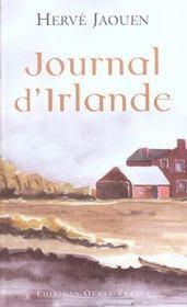 Journal d'irlande - Intérieur - Format classique