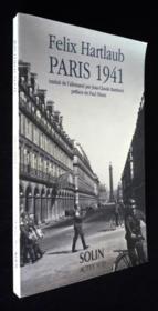 Paris 1941 - journal et correspondance (extraits) - Couverture - Format classique