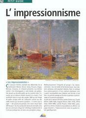 L'Impressionisme - Intérieur - Format classique