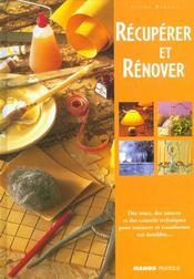 Recuperer Et Renover - Intérieur - Format classique