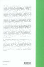 Cosmopolitiques T.12 ; Que Faire... Des Partis? - 4ème de couverture - Format classique