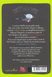 Petit vampire t.2; docteur Marguerite - 4ème de couverture - Format classique