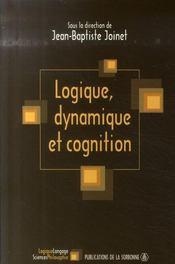 Logique, dynamique et cognition - Intérieur - Format classique