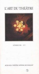 L'art du theatre automne 1986 no 5 - Couverture - Format classique