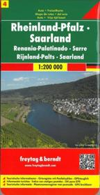 Rhineland Palatinate Saarland - Couverture - Format classique