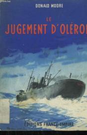 Le Jugement D'Oleron. - Couverture - Format classique