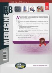 Kb Psychiatrie Pedopsychatrie Edition 2014 - 4ème de couverture - Format classique