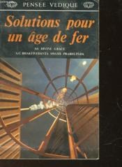 Solutions Pour Un Age De Fer - Couverture - Format classique