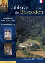 L'Abbaye De Boscodon - Couverture - Format classique