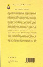 Les pierres de Bobillo - 4ème de couverture - Format classique