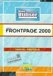Vente  Frontpage 2000  - Collectif