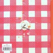 A table - 4ème de couverture - Format classique