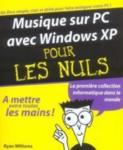 Musique Sur Pc Avec Windows Xp - Couverture - Format classique