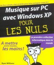 Musique Sur Pc Avec Windows Xp - Intérieur - Format classique