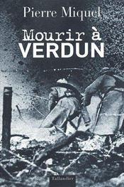 Mourir à Verdun - Intérieur - Format classique