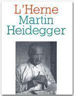 Martin Heidegger - Couverture - Format classique