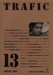 Revue Trafic N.13 - Couverture - Format classique