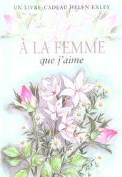 À la femme que j'aime (édition 2003) - Intérieur - Format classique