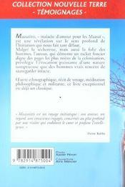 Maasa Itis - 4ème de couverture - Format classique