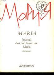 Maria B - Couverture - Format classique