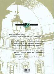 Mandrill t.3 ; l'engrenage - 4ème de couverture - Format classique