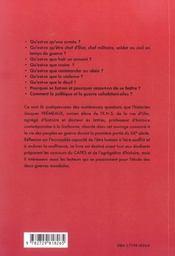 Les Peuples En Guerre (1911-1946) - 4ème de couverture - Format classique
