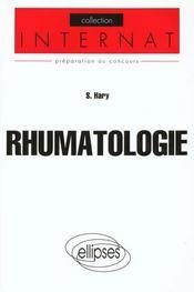 Rhumatologie - Intérieur - Format classique