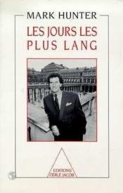 Les Jours Les Plus Lang - Couverture - Format classique