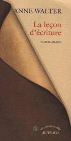 La lecon d'ecriture - Couverture - Format classique