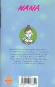 Nana t.16 - 4ème de couverture - Format classique