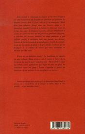 Mais le vert paradis - 4ème de couverture - Format classique