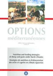 Nutrition and feeding strategies of sheep and goats under harsh climates - Couverture - Format classique