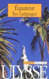Guide Ulysse ; Equateur ; 3e Edition - Intérieur - Format classique