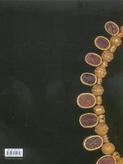 Trésors Antiques. Bijoux De La Collection Campana. - 4ème de couverture - Format classique