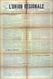 Union Regionale (L') N°1205 du 04/10/1941 - Couverture - Format classique
