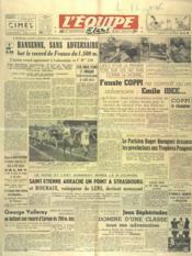 Equipe (L') N°155 du 16/09/1946 - Couverture - Format classique