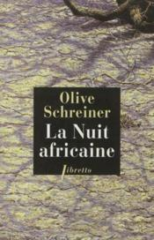 La Nuit Africaine - Couverture - Format classique