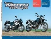 Rmt 137.1 Honda Cbr125r (04/05) Yamaha Xt660r Et Z - Couverture - Format classique