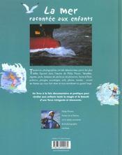 La mer racontée aux enfants - 4ème de couverture - Format classique