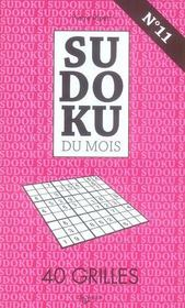 N.11 Sudoku Novembre - Intérieur - Format classique
