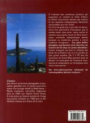La riviera sous-marine - 4ème de couverture - Format classique