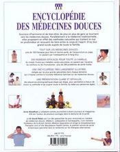 Encyclopedie Des Medecines Douces - 4ème de couverture - Format classique