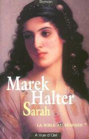 La Bible au féminin t.1 ; Sarah - Intérieur - Format classique