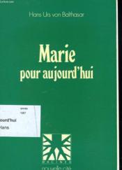 Marie Pour Aujourd Hui - Couverture - Format classique