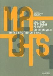 Vente  Maths manuel bac pro tertiaire term  - Salette