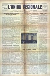 Union Regionale (L') N°1206 du 25/10/1941 - Couverture - Format classique
