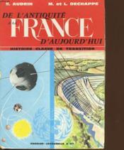 De L'Antiquite A La France D'Aujourd'Hui - Couverture - Format classique