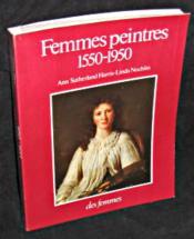 Femmes Peintres 1550 B - Couverture - Format classique